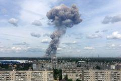 Взрывы в Дзержинске. Фото: Михаил Солунин / ТАССВласти рассказали о масштабах разрушений после взрывов в Дзержинске взрывы