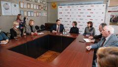 Встреча с министромМинистр цифрового развития Чувашии положительно оценила опыт перехода печатных СМИ в Интернет СМИ Чувашии