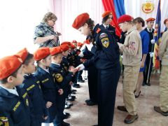 Фото Наталии КолывановойЗдравствуй, кадетство! кадеты