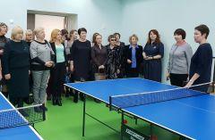 Кроме современного спортзала есть помещения для занятий теннисом. Фото Наталии КолывановойЖенсовет Новочебоксарска посетил Чувашский кадетский корпус  кадетский корпус
