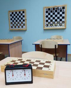 Шахматный кабинет с удобными столами.  Женсовет Новочебоксарска посетил Чувашский кадетский корпус  кадетский корпус