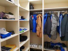 Такие гардеробные есть в каждой комнате спального корпуса.Женсовет Новочебоксарска посетил Чувашский кадетский корпус  кадетский корпус