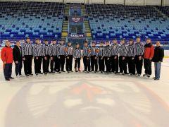 Учебно-тренировочные сборы судей ПФО по хоккею прошли в Чебоксарах