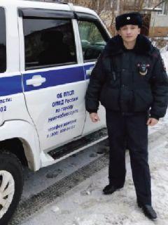 Артем Петров. Фото МВД по ЧувашииНастоящий мужчина Грани в Сети