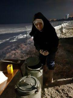 Крещенские купания в Новочебоксарске (фото, видео) 19 января — Крещение Господне