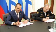 ПМЭФ-2019: Подписано соглашение о взаимодействии между Чувашией и Военно-морской академией им. адмирала Н.Г.Кузнецова ПМЭФ-2019