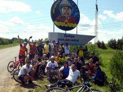 """Ежегодно """"Солнце на спицах"""" крутит педали на малую родину космонавта Андрияна Николаева.Велосипедисты приглашают на бал велобал"""