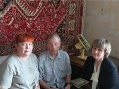 90 лет исполнилось ветерану войны и труда Илье Григорьевичу Григорьеву Юбилей ветеран войны и труда