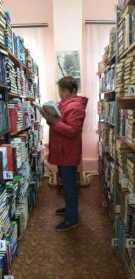 В Гагаринке 77 тысяч  книг, выбирай любую!Читать – не перечитать Территория культуры