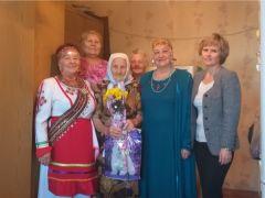 Ветеран войны Мария Федоровна Аверина отметила 95-летний юбилей Юбилей