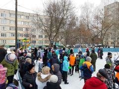 Хоккейная коробка в Ельниково открыта! хоккейная коробка