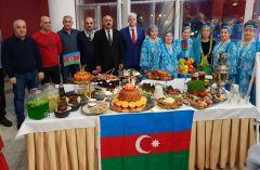 Азербайджанская диаспора представила главные блюда своего народа.Новочебоксарск – город единства народов и культур Моя Держава