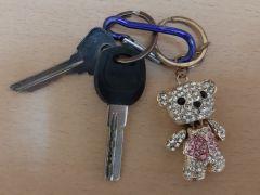 Ключи с приметным брелоком-мишкой Бюро находок