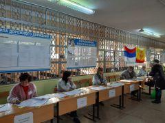 Журналист газеты «Грани» в штабе общественного наблюденияЖурналист газеты «Грани» в штабе общественного наблюдения Выборы - 2021