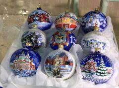 Это настоящие произведения искусства.В Клин — за новогодними чудесами! Тропой туриста #Узнаём Россию вместе