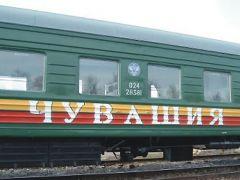 С 15 апреля в Чувашии будет курсировать пригородный(летний) поезд Чебоксары-Канаш-Чебоксары