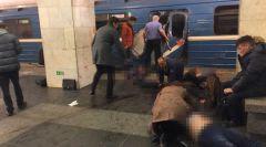 Фото: © L!FEВзрывы в метро Санкт-Петербурга: девять погибших и 20 пострадавших  взрыв