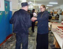 ИК-5Праздничное Богослужение прошло в исправительной колонии № 3 Пасха