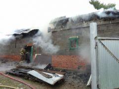 В Чувашии горят домаВ Чувашии на выходных горели дома пожар