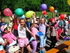 """""""Радуга"""" зажигает под """"Oppa Gangnam Style"""". Фото автораПо радуге  на остров Счастья пришкольные лагеря"""
