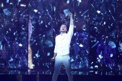 """Лазарев на сцене. Фото: EPA-EFE / ABIR SULTANСергей Лазарев стал третьим на """"Евровидении"""" Евровидение - 2019"""