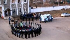 В УФСИН Чувашии прошли тактико-специальные учения по ликвидации группового неповиновения УФСИН