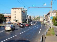 Так выглядит проезжая часть в центре городаВ Чебоксарах завершили оптимизацию дорожного движения в центре города дороги