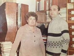 Нина Сергеевна с супругом Анатолием (на тот момент они были женаты уже 12 лет). С любовью к прошлому и настоящему 8 июля — День семьи