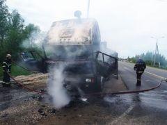 За день в Чувашии огнем повреждены три автомобиля пожар возгорание