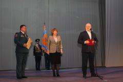 Генеральный директор ПАО «Химпром» поздравил огнеборцев Химпром