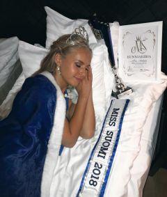 Титул «Мисс Финляндия» завоевала «русская»