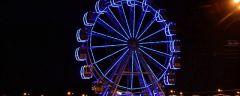 Колесо обозрения заработалоВ Чебоксарах запустили новое колесо обозрения День города