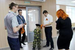 На «Химпроме» проводится акция «Георгиевская ленточка»