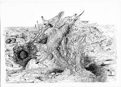 Волны на реке жизни. Рисунок Владимира ЛИСИЦЫНАТечет моя Волга среди хлебов спелых, среди снегов белых  стихи про Волгу На Парнасе Волга
