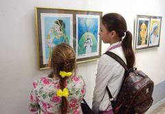 С 15 марта картины индийских школьников можно посмотреть в художественном музее.Индия  и Новочебоксарск: дружба начинается Выставка
