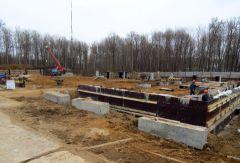 Строительство регионального центра развития хоккея при Чебоксарском кадетском корпусе идет по графику
