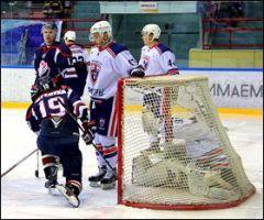 В Саратове новобранец «Чебоксар» Денис Мотошин приносит команде «сухую» победу ХК Чебоксары