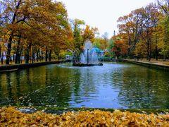 Золотая осень в парке Петергофа.Познать невозможно. Можно только наслаждаться и удивляться Тропой туриста Поехали!