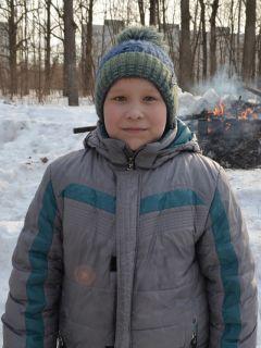 9-летний Семён Афанасьев.Солнце, блины  и весеннее настроение Масленица-2019 Город счастливых семей