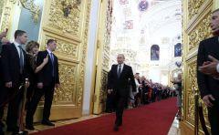 Глава Чувашии Михаил Игнатьев принял участие в церемонии инаугурации президента РФ