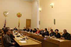 Заседание Общественной палаты прошло в торжественной обстановкеИтоги и награды: Общественная палата Чувашии провела финальное заседание 2017 года Общественная палата