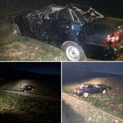 Фото: https://vk.com/gibdd21В Чувашии на трассе М7 перевернулась машина, пострадали беременная пассажирка и водитель