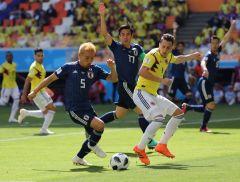 ЧМ-2018. Первый тур группового этапа. Матч Колумбия — Япония. Счет 1:2. Нам нужна только победа ЧМ-2018