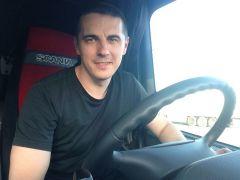 Алексею Князеву нравится жизнь на колесах.Современный дальнобойщик дальнобойщик