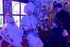 """В резиденции Деда Мороза в """"Амазонии"""" за новогодние праздники побывали несколько тысяч семей Чувашии.""""Амазония""""  зажгла сердца Новый год - 2020"""