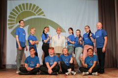 Ансамбль танца ТандашЧебоксарская ГЭС поддержала фестиваль творчества инвалидов по зрению РусГидро
