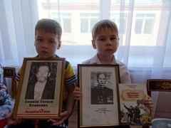 Артем Косов и Никита Павлов.Мой прадед сражался на страшной войне Память поколений Бессмертный полк