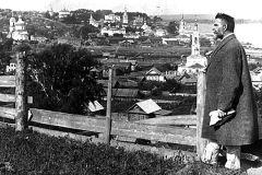 Ашмарин в Чебоксарах (между 1925 и 1927 годами).Он памятник воздвиг себе нерукотворный словарь чувашского языка Николай Ашмарин 100 символов Чувашии