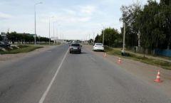 Место ДТП в БатыревоЗа один день в Чебоксарах, Новочебоксарске и Батырево в ДТП пострадали дети ДТП с несовершеннолетним