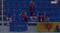 Болельщики на трибунах«Молния-РусГидро» завоевала второе место в дивизионе «Дебют»  Объединенной корпоративной хоккейной лиги РусГидро